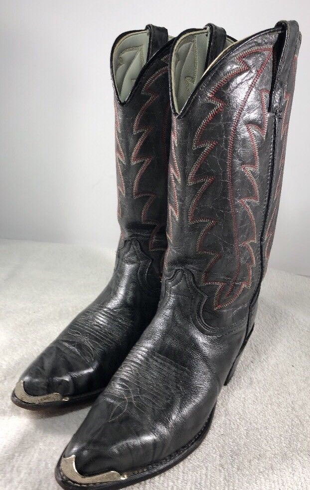 6c44ae981ccece Durango DB407 Marbled Gray Grey and Red Western Cowboy Boots Men s 8.5D