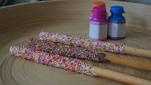 Fairy wands - Fun twist on fairy bread