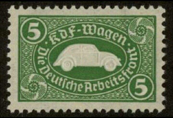 KdF Wagen ration stamp