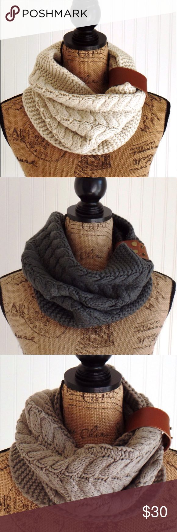 Snood, Knit Snood, Knit Scarf, Winter Scarf Snood Knit snood. Women's or girls knit snood scarf. Uptown Girl Co Accessories Scarves & Wraps