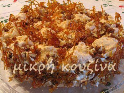 μικρή κουζίνα: Τούρτα καραμέλα μπεζέ