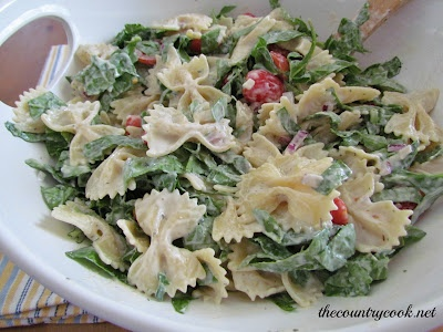 Creamy Mediterranean Pasta Salad | Pasta's Perfect | Pinterest