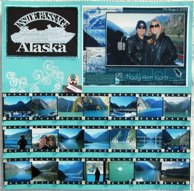 Alaska layout. I love it to fit multiple picture on one page!