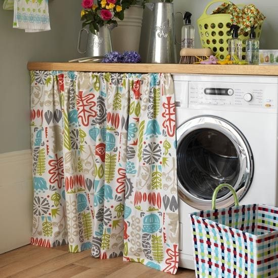 Practical laundry area | Modern utility room ideas | housetohome.co.uk