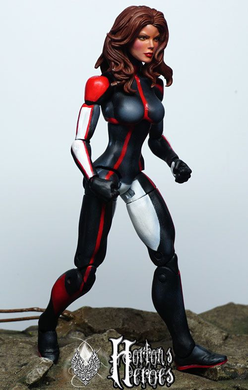 "Marvel Legends Custom MONET ST CROIX ""M"" Uncanny XMEN 