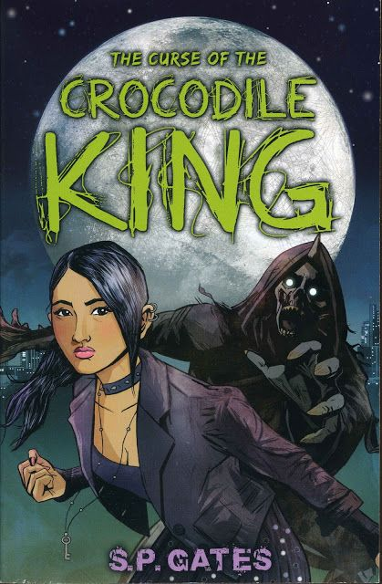 """2012 """"The Curse of the Crocodile King"""" published by Tamarind, an imprint of Random House Children's Books (sequel to """"Zilombo"""")"""