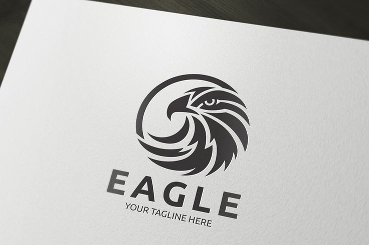 Eagle Logo by Super Pig Shop on Creative Market