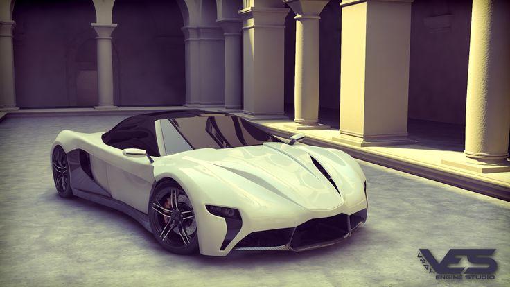 Concept Car 2 | Freelancers 3D