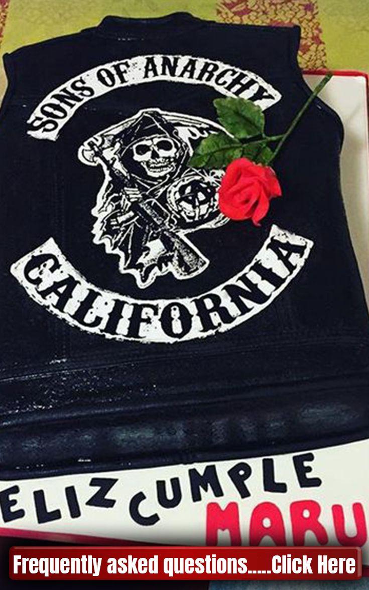 Sons Of Anarchy Cake Birthdays Sons Of Anarchy Cake Ideas Sons Of Anarchy Cake Charlie Hunnam Sons Of Anarchy Tattoos Anarchy Quotes Sons Of Anarchy Tara