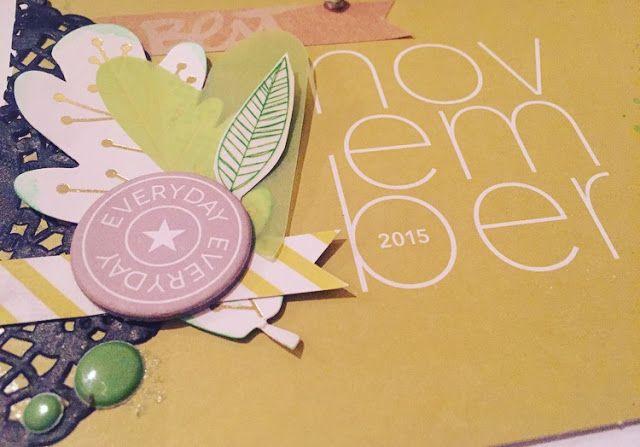 IheartProjectLife: Layout: November #YAY