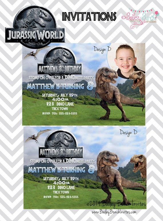 59 best Jurassic birthday party images on Pinterest Birthday