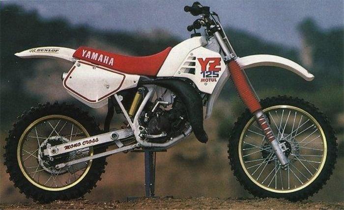 My first bike: 1987 Yamaha YZ 125