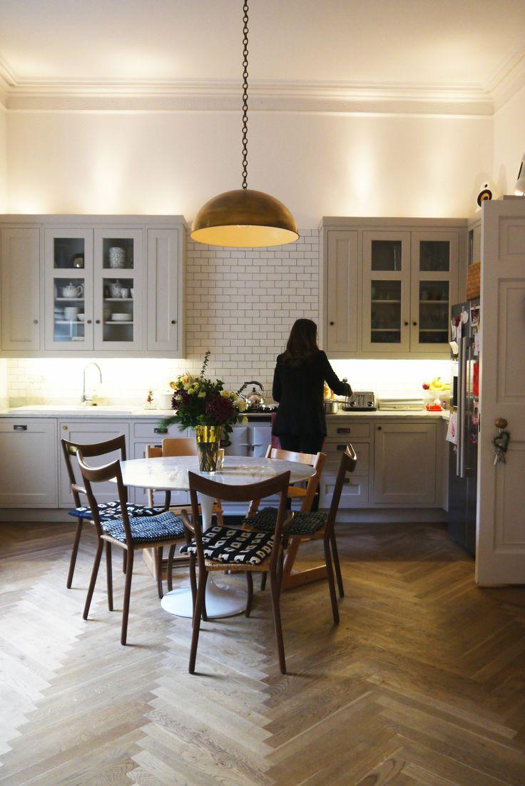 Chris and sam s elegant family duplex in edinburgh for Kitchen ideas edinburgh