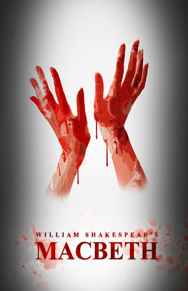 Citaten Shakespeare Macbeth : Macbeth movie poster on behance shakespeare posters