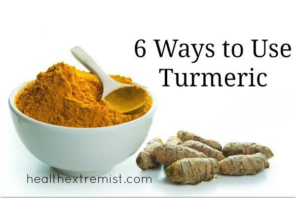 how to use turmeric