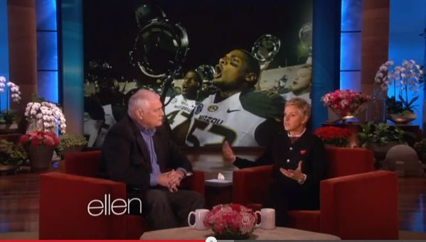 Click here to watch hero reporter Dale Hansen (who defended Michael Sam) on The Ellen Show!