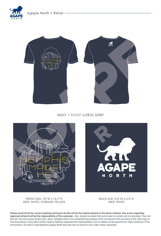 Agape North: Custom Apparel that Gives Back. #memphis #memphismademe #apparel