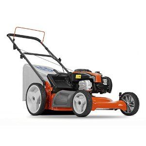 Husqvarna 5521P 21-Inch 140cc Briggs & Stratton Gas Powered 3-in-1 Push Lawn Mower With High Rear Wheels