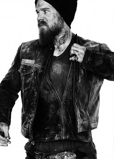 Ryan Hurst as Opie, the only man in the world who can pull off a neck tattoo. Babe.