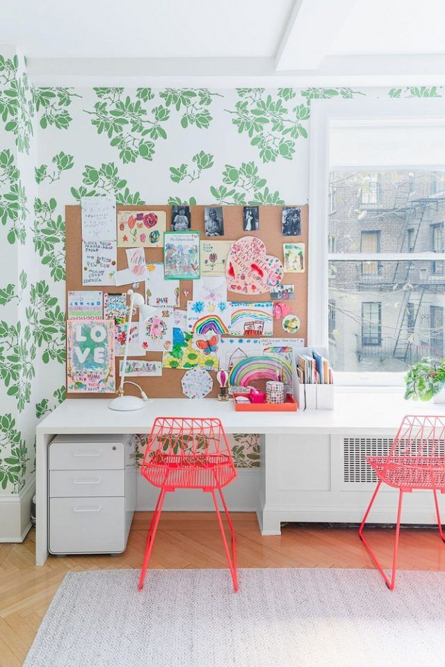 Peel Stick Wallpaper Picks For Kids Rooms Emily A Clark Kid Room Decor Kids Playroom Decor Displaying Kids Artwork