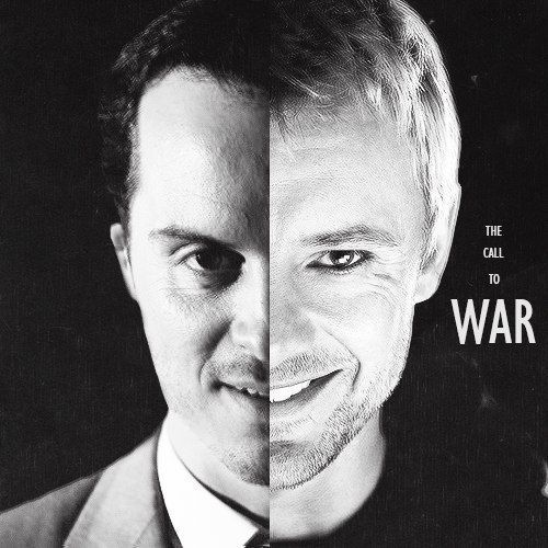 Moriarty and the Master (Andrew Scott and John Simm)
