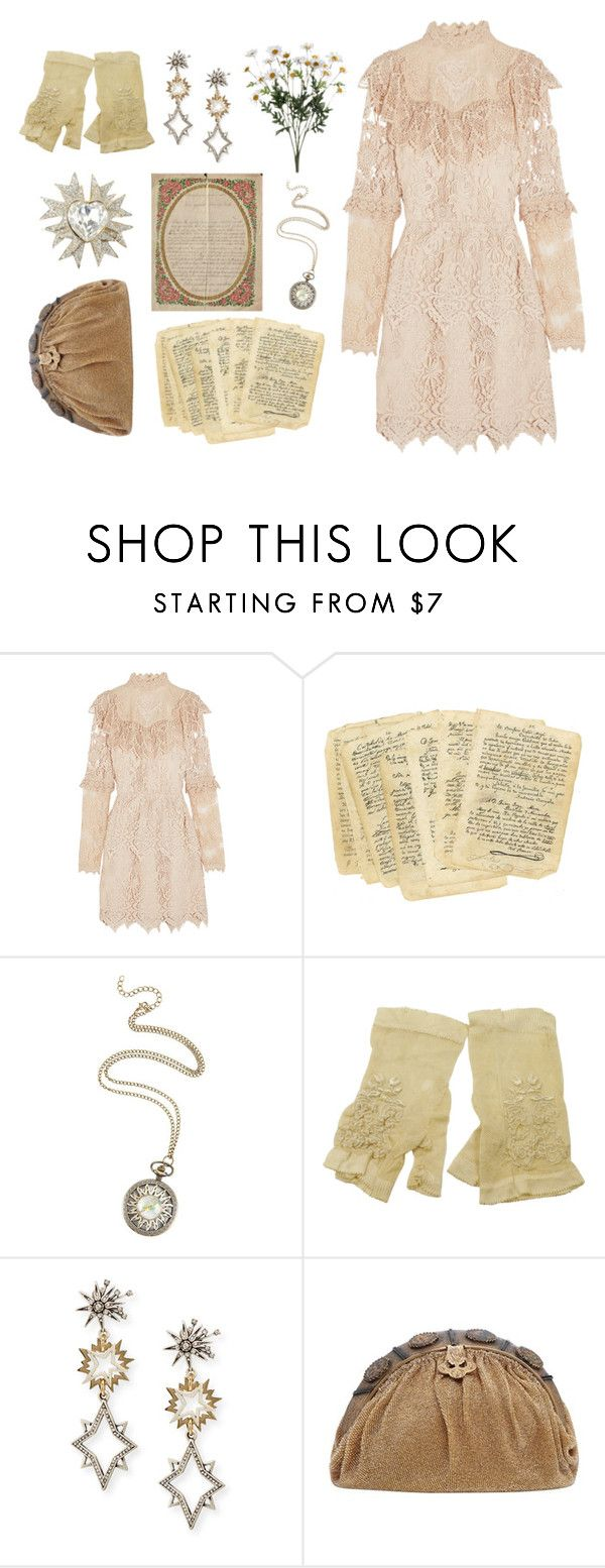 """""""Antique Drama"""" by angelc ❤ liked on Polyvore featuring Anna Sui and Lulu Frost"""