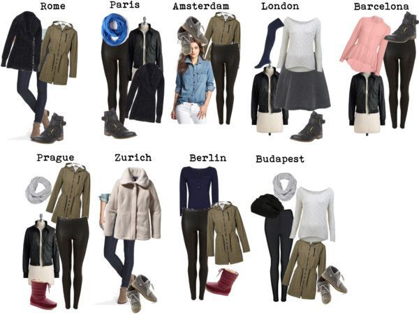 Learn what you need to pack when backpacking Europe in the Winter - this packing guide provides sample capsule wardrobes and travel outfits