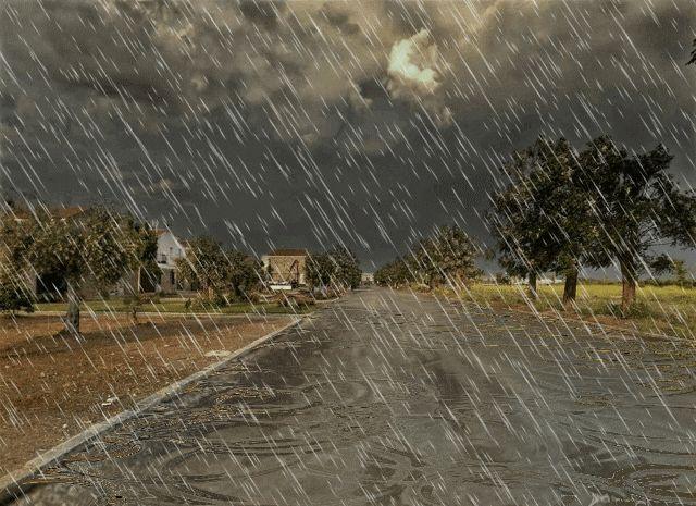 """imagenes de lluvia en movimiento   ... MUNDO MANUAL Y """"ARTISTICO"""": LLUVIA TORRENCIAL EN PIZARRO GIF Animado"""