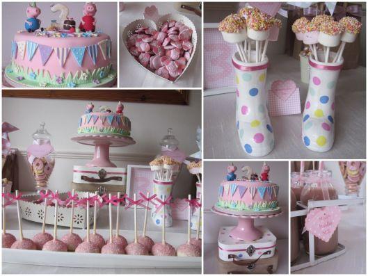 Ideias para festa de aniversário tema Peppa PIG