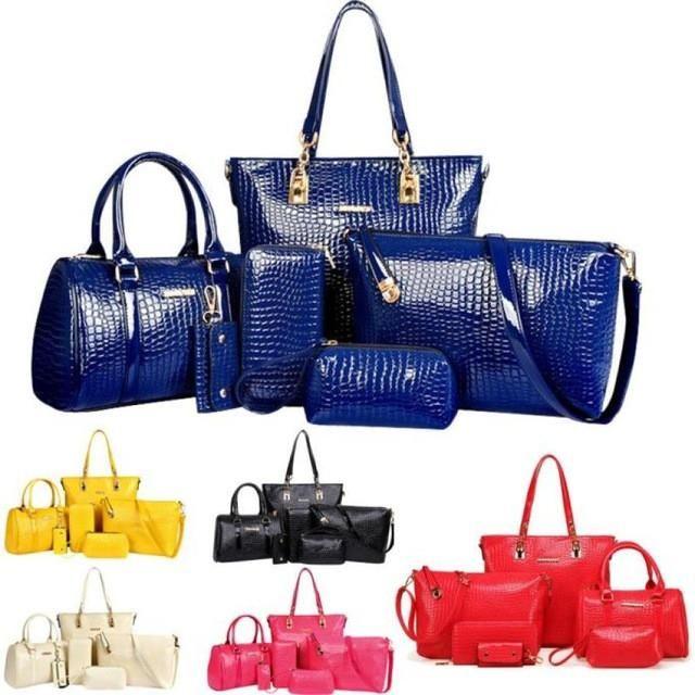 Handbags For 2016 Fashion Women Handbag Within 6 Bags Tote Purse Leather Ladies Messenger Hobo Bag para mujer