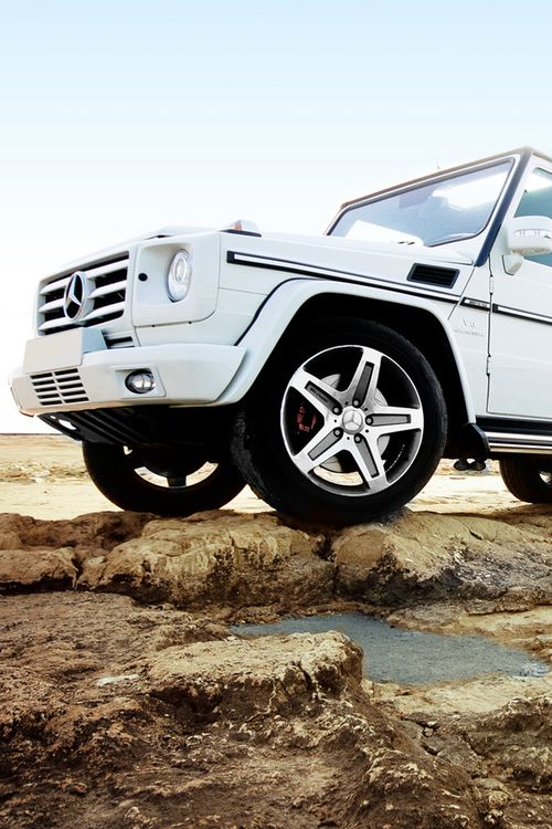 White mercedes g class maybe my second choice of my for Arbonne mercedes benz