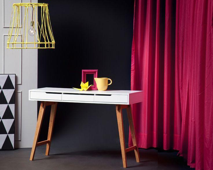 Wunderschöne Konsole ANNEKE | Modernes Design Gepaart Mit Schlichter  Eleganz   In Mattem Weiß U0026 Buche