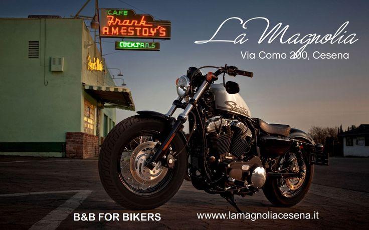 B&B per Bikers a pochi km da Cesenatico e Milano Marittima Offerte per motociclisti con garage coperto