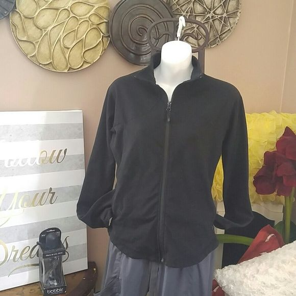 Black LULULEMON ATHLETICA At Jacket! Black LULULEMON ATHLETICA Jacket! In Great condition!  Firm. Free water bottle with purchase. lululemon athletica Jackets & Coats