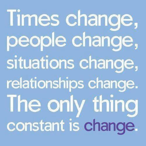 One Thing Is Certain Quotes: Quotes About Constant Change. QuotesGram