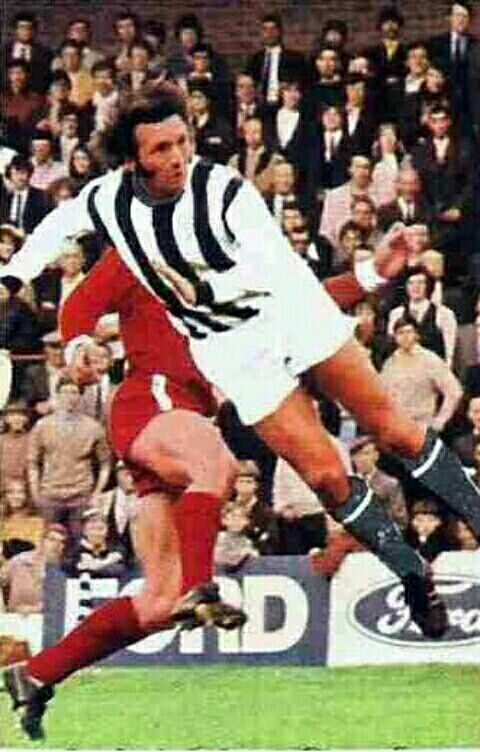 Jeff Astle of West Brom in 1971.