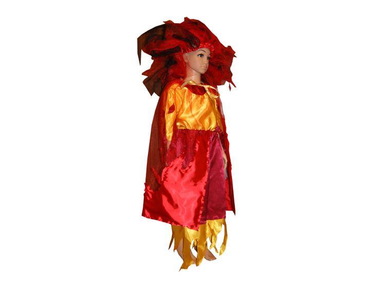 Карнавальный костюм Огня своими руками на праздник Осени ... - photo#41