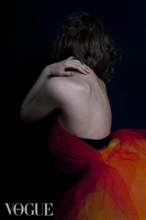 Photographer: Julia Vistbacka (Vistbakka); Model: Marina Kovlachuk; Published: vogue.it