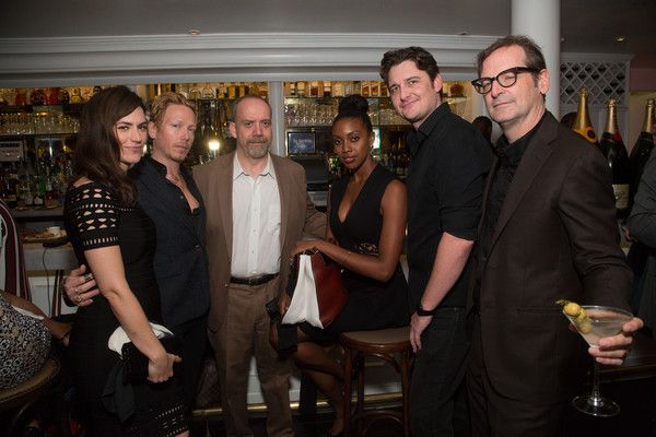 Maggie Siff Photos Photos - Maggie Siff, Eric Damon, Paul Giamatti, Condola Rashad, Toby Leonard Moore, and Paul Ratliff attend Gotham Magazine Celebrates September Fall Fashion Issue with Cover Stars Paul Giamatti and Maggie Siff at Bagatelle on September 27, 2016 in New York City. - Gotham Magazine Celebrates Its September Fall Fashion Issue With Cover Stars Paul Giamatti and Maggie Siff