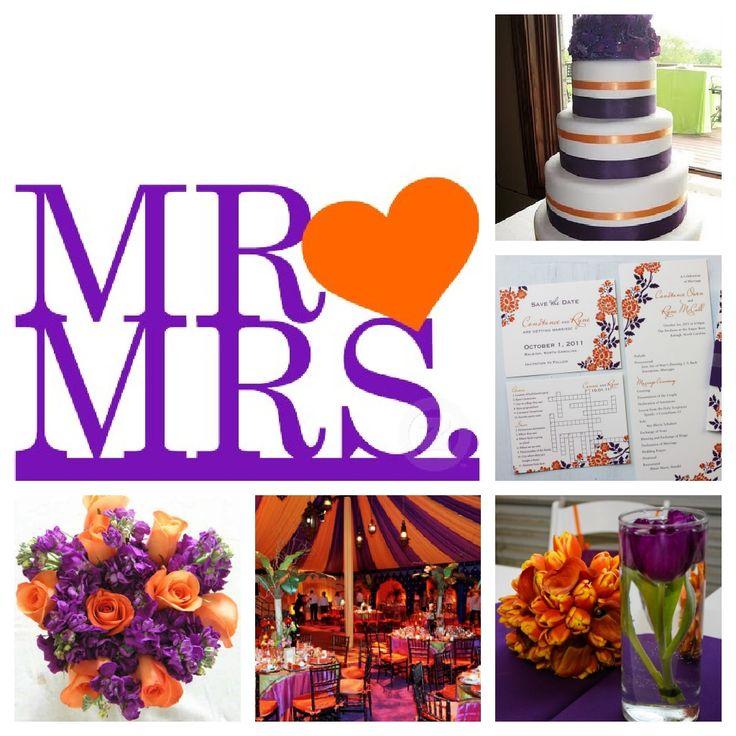 Purple Orange Wedding Ideas: 68 Best MirMir's Burnt Orange And Lavender Theme