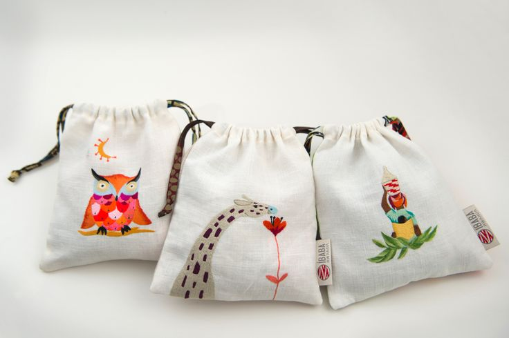 Pouches for the kids collection Ibaba Rwanda