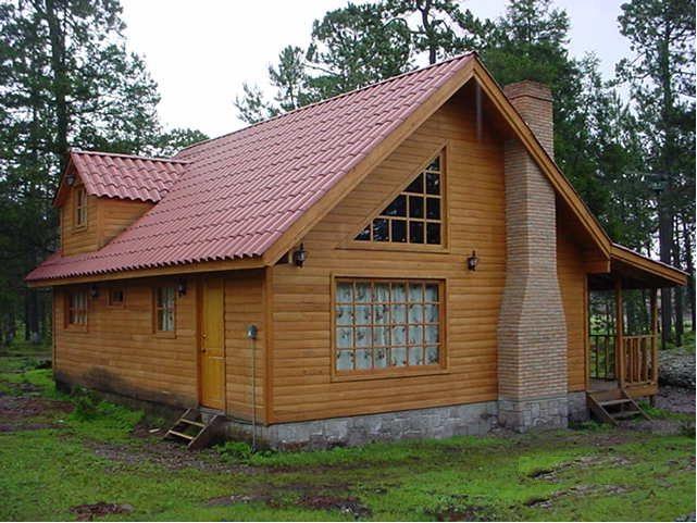 Caba a en mexiquillo baluartetours caba as en durango - Construccion de cabanas de madera ...