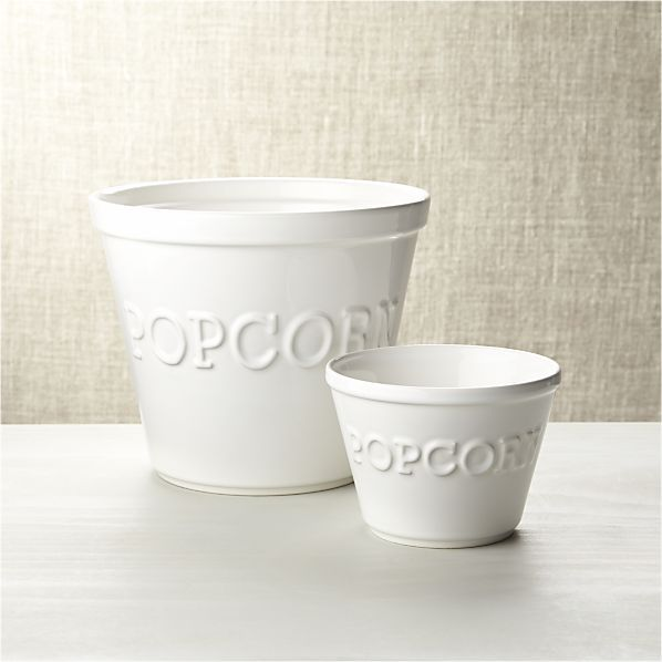 Large Popcorn Bowl - Crate and Barrel