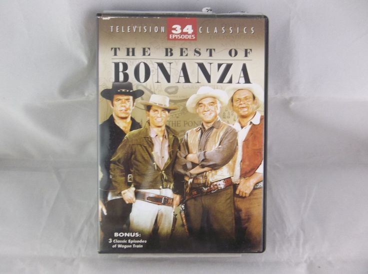 The Best of Bonanza Television Classics 2007 4-Disc DVD Set  #TheBestOf #Bonanza #Westerns #TV #Episodes #Shows #DVD #Set #Collection #Television #eBid