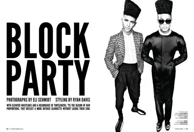 Keith Hernandez, Robbie Morimoto & Conrad Bromfield Visit the Block for Essential Homme