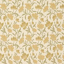 Buy John Lewis Colette Curtain, Yellow Online at johnlewis.com