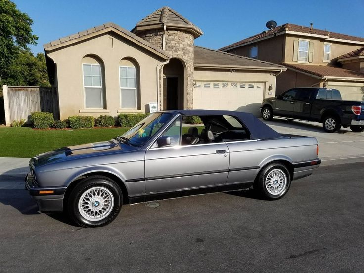 Awesome Great 1991 BMW 3-Series Convertible 1991 e30 BMW 325i Convertible Gray with Leather - No Rust 2017 2018 Check more at http://24auto.ga/2017/great-1991-bmw-3-series-convertible-1991-e30-bmw-325i-convertible-gray-with-leather-no-rust-2017-2018/