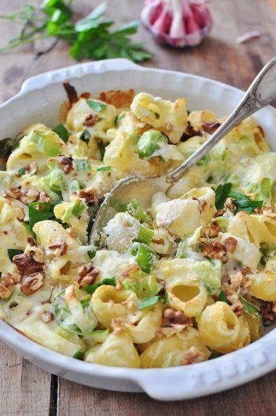 Recette Gratin de pâtes poireaux, chorizo et Ricotta http://www.ilgustoitaliano.fr/recettes/rechercher/keys-ricotta