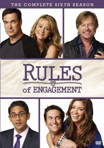 Rules Of Engagement The Complete Sixth Season DVD 2007 Region
