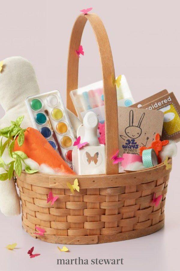 22 Of Our Favorite Easter Basket Ideas In 2021 Diy Easter Gifts Girls Easter Basket Easter Diy Kids